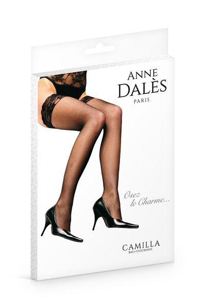CHulki Anne De Ales CAMILLA  - Чулки в мелкую сеточку Anne De Ales CAMILLA на силиконе