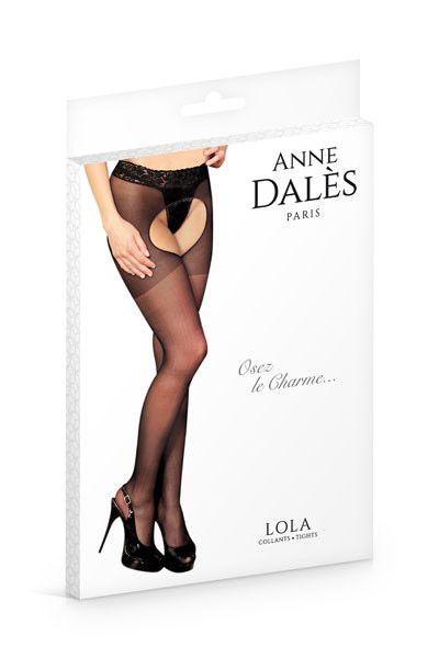Kolgoty Anne De Ales LOLA 1 - Колготы с вырезами  Anne De Ales LOLA большого размера