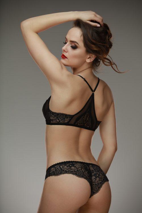 Anette bra LAMORE  500x750 - Кружевные трусики-бразилианы Anette  L'AMORE