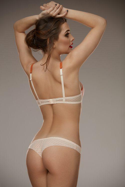 Arianna Bra Lamore  500x750 - Трусики-бразилианы в горошек Arianna L'amore
