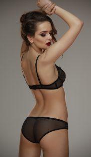 Gala blackbeige bra Lamore 1 181x312 - Трусики кружевные Gala black+beige  L'amore