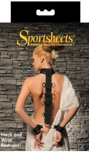 Oshejnik s naruchnikami Sportsheets Neck Wrist Restraint 181x312 - Ошейник с наручниками Sportsheets Neck & Wrist Restraint