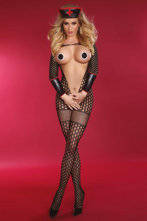 Sexy Nurse Surprise Livia Corsetti 2 500x750 - Игровой костюм (бодикомбинезон, боди) медсестры Sexy Nurse Surprise LC