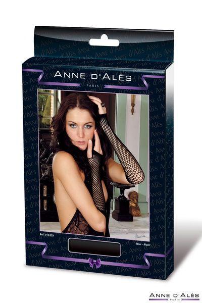 Mitenki setka Anne De Ales  - Митенки (перчатки без пальцев) из сетки Nathalia  Anne De Ales