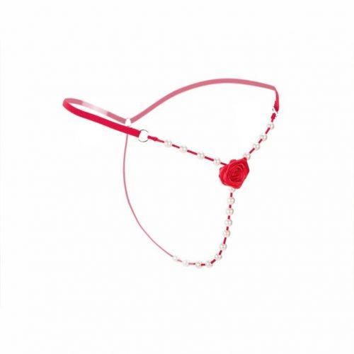 flirtoshop.com.ua 2 500x500 - Откровенные стринги с розой и бусами
