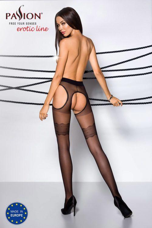 kolgoty s vyrezom mezhdu nog i na bedrah tiopen 002 razmer 1 2 passion flirtoshop.com.ua 1 500x750 - Колготы с вырезом между ног и на бедрах TIOPEN 002, размер 1/2, 3/4 Passion