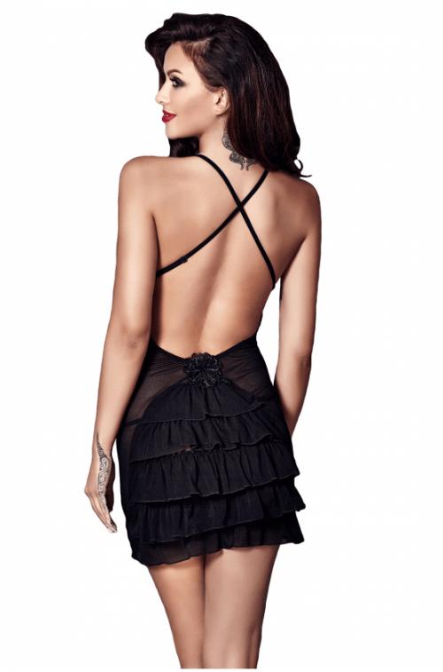 flirtoshop.com.ua 10 500x757 - Ночное прозрачное платье Anais Nala