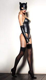 flirtoshop.com.ua 181x312 - Боди под мокрую кожу с подтяжками для чулок и перчатками