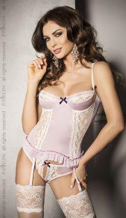 korset s volanami i kruzhevom shanti corset passion flirtoshop.com.ua 181x312 - Корсет с воланами и кружевом SHANTI CORSET Passion