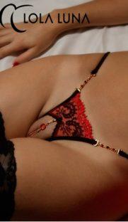 otkrytye erotichnye stringi victoria open lola luna flirtoshop.com.ua 181x312 - Открытые эротичные стринги Victoria open  Lola Luna