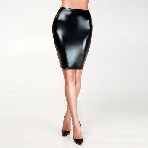 lakirovannaya yubka s otkrytoj popoj i setkoj flirtoshop.com.ua 1 500x500 - Лакированная юбка с открытой попой и сеткой