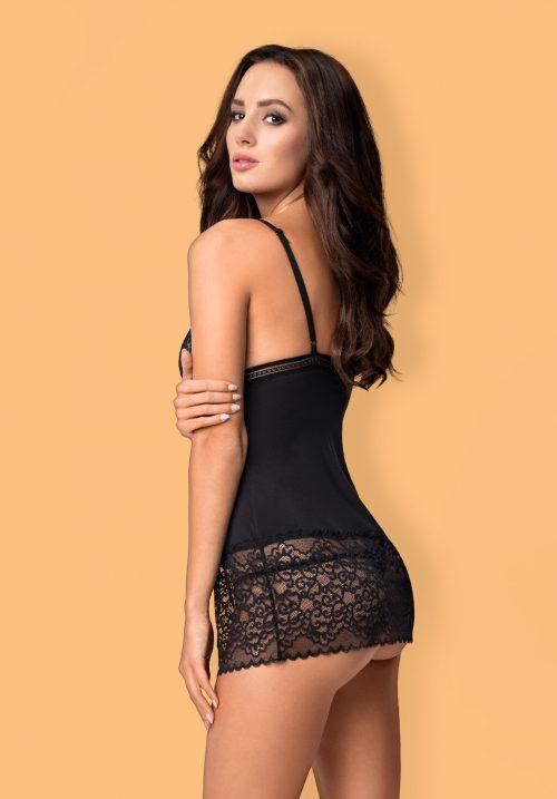ailayobsessive flirtoshop.com.ua 3 500x717 - Сексуальная сорочка с мягким кружевным лифом Ailay  Obsessive