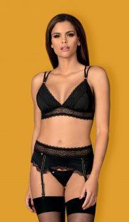 lolitte obsessive flirtoshop.com.ua 181x312 - Кружевной комплект - уплотненный лиф, пояс, стринги  Lolitte  Obsessive
