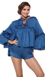 pigeon flirtoshop.com.ua 181x312 - Комплект - сорочка с длинным рукавом  и шорты Pigeon