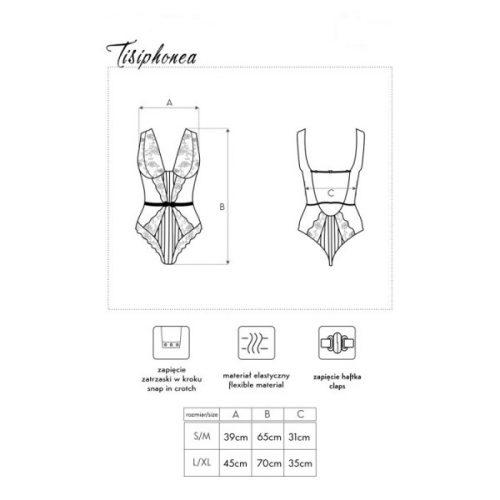 tisiphonealc flirtoshop.com.ua 1 500x500 - Кружевной боди с отрытой спиной Tisiphonea LC