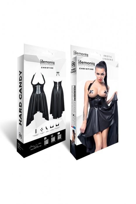 christine demoniq flirtoshop.com.ua 1 - Платье из винила с открытой грудью  Christine Demoniq