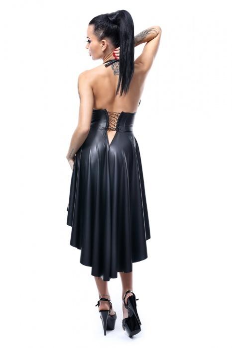 christine demoniq flirtoshop.com.ua 2 - Платье из винила с открытой грудью  Christine Demoniq