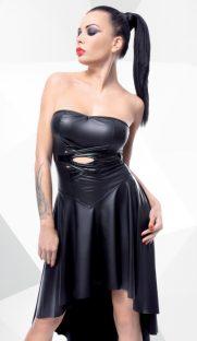 demeter demoniq flirtoshop.com.ua 181x312 - Платье из винила с удлиненным подолом Demeter Demoniq