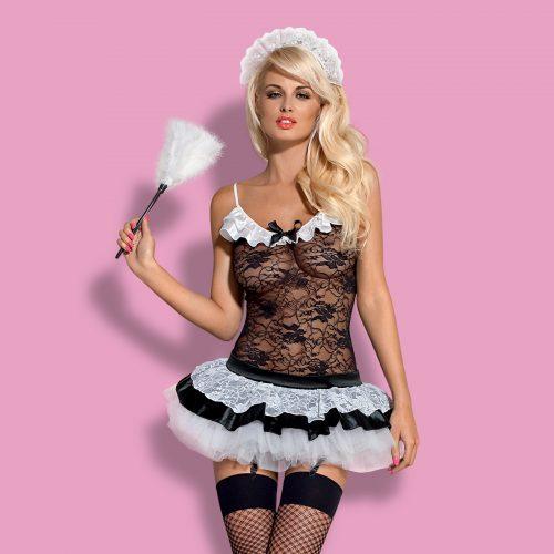 housemaid obsessive flirtoshop.com.ua 3 500x500 - Игровой костюм Горничной Housemaid Obsessive