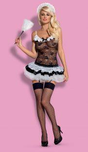 housemaid obsessive flirtoshop.com.ua scaled 181x312 - Игровой костюм Горничной Housemaid Obsessive