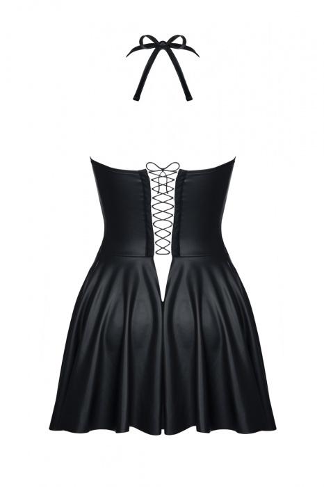 jasmin demoniq flirtoshop.com.ua 2 - Короткое кожаное платье с открытой грудью Jasmin Demoniq