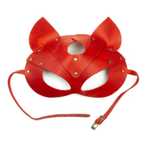 flirtoshop.com.ua 1 500x500 - Маска - кошка из натуральной кожи, цвета: красная, зеленая, голубая