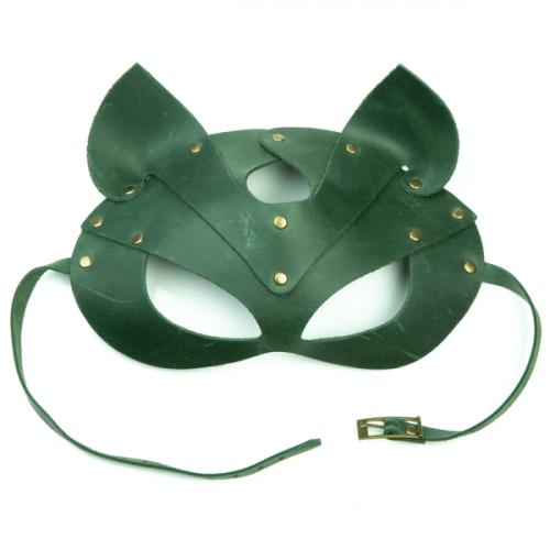 flirtoshop.com.ua 5 500x500 - Маска - кошка из натуральной кожи, цвета: красная, зеленая, голубая