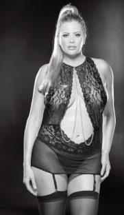 flirtoshop.com.ua 8 181x312 - Откровенная прозрачная сорочка с цепями и открытой спиной большого размера