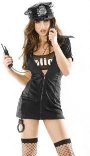 chilirose police costume flirtoshop.com.ua 181x312 - Ролевой костюм полицейской Chilirose  POLICE COSTUME