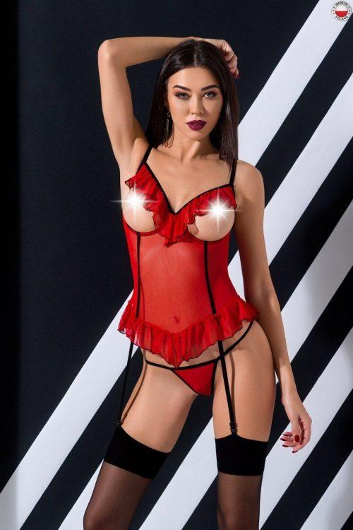 flirtoshop.com.ua 500x750 - Полупрозрачный корсет с воланами и открытой грудью CHERRY CORSET Passion