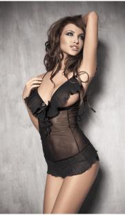 anais caprice flirtoshop.com.ua 181x312 - Комплект с открытой грудью и стринги Anais Caprice