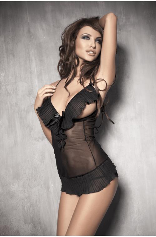 anais caprice flirtoshop.com.ua 500x757 - Комплект с открытой грудью и стринги Anais Caprice