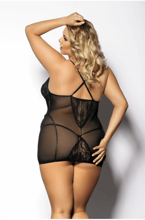 anais ymare flirtoshop.com.ua 500x757 - Короткая облегающая сорочка Anais Ymare большого размера