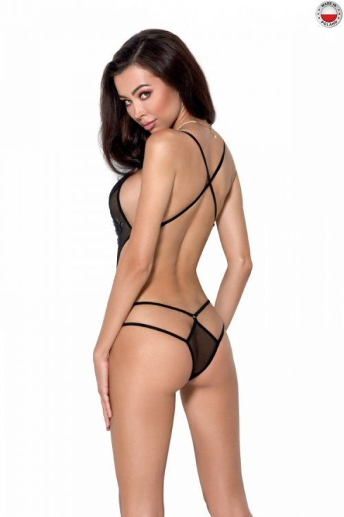 erza body passion flirtoshop.com.ua 1 500x750 - Откровенное боди с кружевом ERZA BODY  Passion