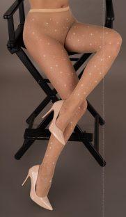 mailaris livia corsetti flirtoshop.com.ua 181x312 - Колготки в мелкую сетку со стразами Mailaris  Livia Corsetti