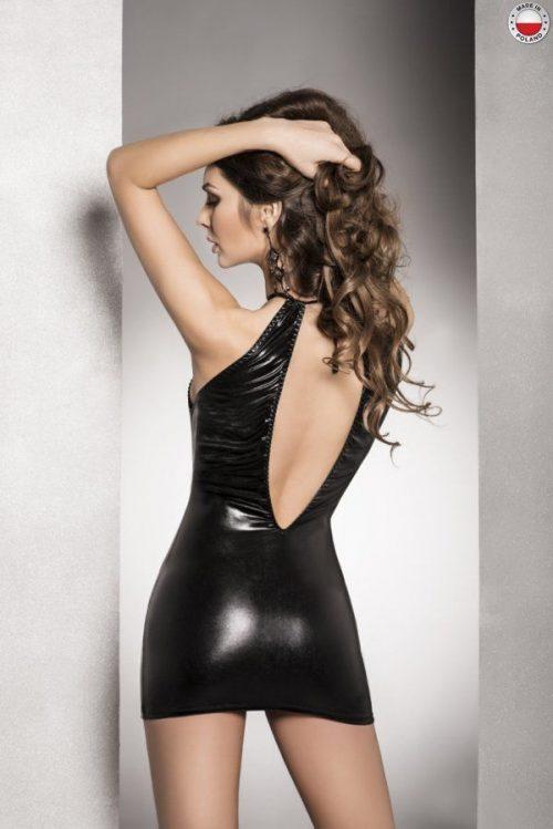 femi dress passion flirtoshop.com.ua 1 500x749 - Платье под лайкру с вырезом FEMI DRESS Passion