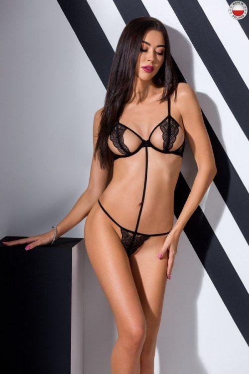 quentris bikini passion flirtoshop.com.ua 500x750 - Откровенный комплект с кружевом QUENTRIS BIKINI Passion