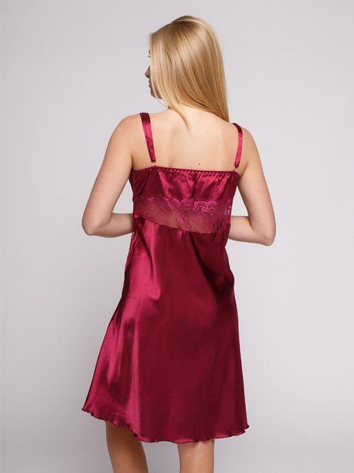 serenade flirtoshop.com.ua 2 500x667 - Сорочка из шелка с кружевом большого размера Serenade