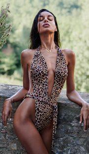 cancunella obsessive flirtoshop.com.ua 181x312 - Цельный купальник леопардового цвета Cancunella  Obsessive