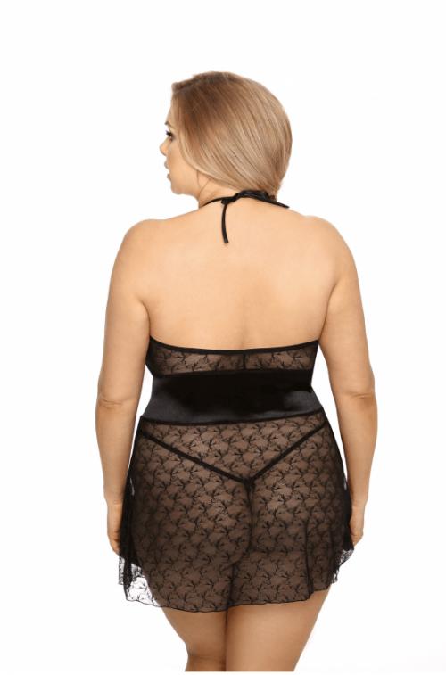 rhiannon anais flirtoshop.com.ua 2 500x757 - Сорочка большого размера из прозрачного тюля Rhiannon  Anais