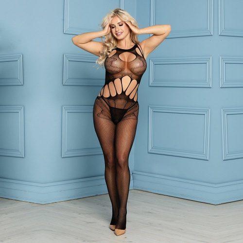 flirtoshop.com.ua 30 500x500 - Цельный бодистокинг с вырезом на груди