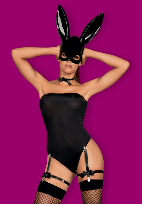 bunny obsessive flirtoshop.com.ua 500x717 - Игровой костюм кролика с маской и чулками Bunny  Obsessive