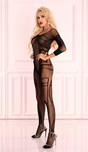 monata livia corsetti flirtoshop.com.ua 181x312 - Цельная нательная сетка с длинным рукавом Monata Livia Corsetti