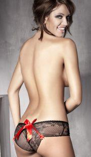 anais iva flirtoshop.com.ua 181x312 - Кружевные шортики с атласным бантиком Anais Iva