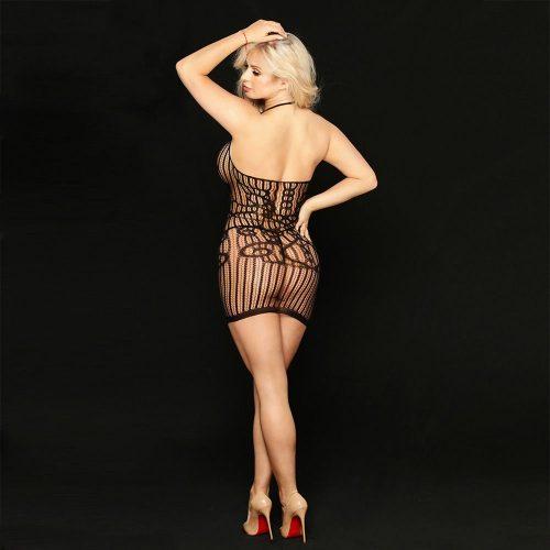 flirtoshop.com.ua 3 500x500 - Платье-сетка с бретелью через  шею