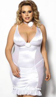 ans tanice flirtoshop.com.ua 181x312 - Облегающая сорочка большого размера с глубоким декольте  ANS Tanice